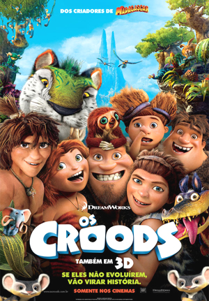 Os Croods, filme animado por computador e produzido pela DreamWorks Animation