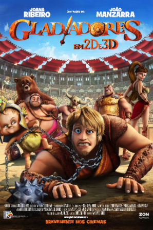 Filme de Animao Gladiadores em 2D e 3D