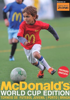Torneio de Futebol McDonalds 2013 - World Cup Edition em Portugal