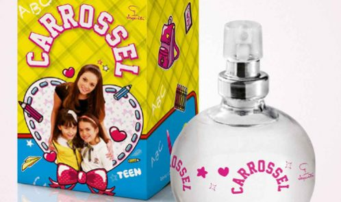 Jequiti apresenta o novo perfume feminino Carrossel