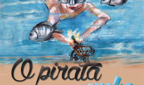 Livro Infantil - O Pirata sem Orelha - Lançamento