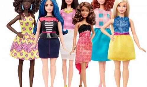 Brinquedos contra os padrões de beleza inatingíveis - Imagem Mattel ©