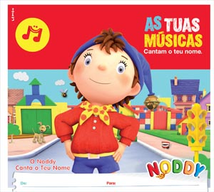 Cd 'As Tuas Músicas' cantado pelo Noddy
