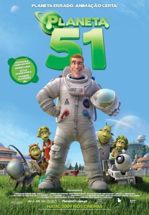 Cartaz Planet 51