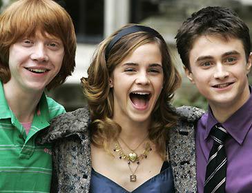 Rupert Grint - Emma Watson - Daniel Radcliffe
