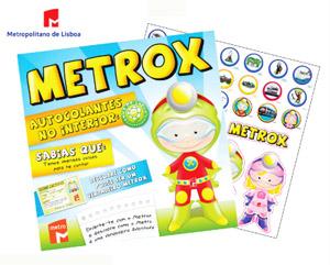 Mascote Metrox
