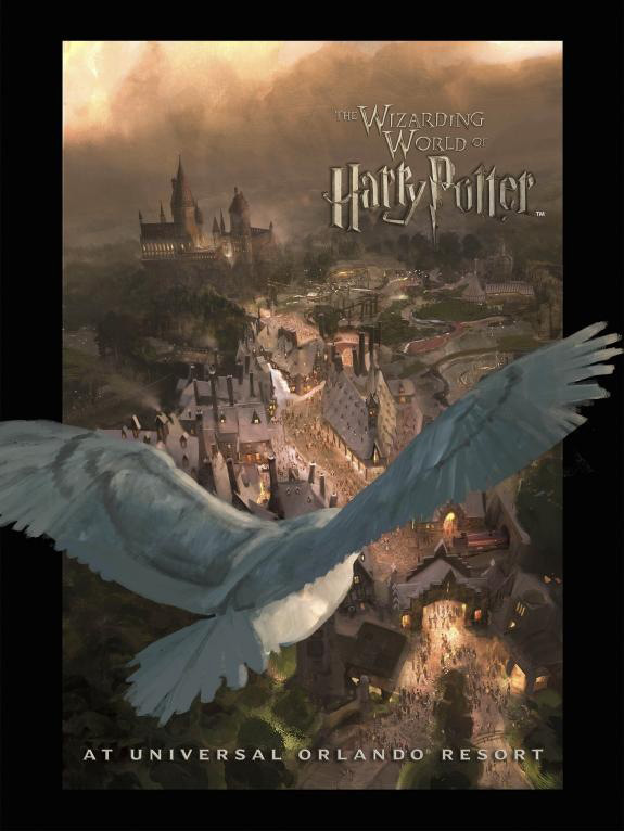 Poster Oficial Parque Harry Potter