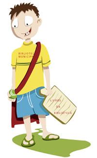Incentive seu filho á ir a Biblioteca!