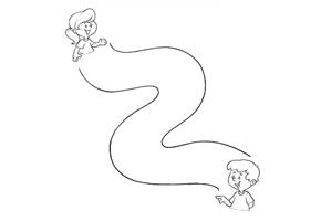 Brincadeiras Antigas - Jogo do Labirinto