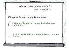 Jogo dos Erros de Português