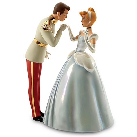 Precious Moments Cinderella Wedding Cake Topper