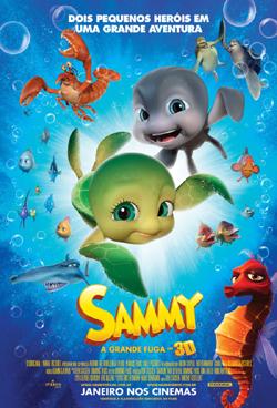 Cartaz - Sammy - A Grande Fuga