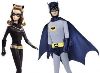 Batman e Mulher Gato - Barbie Collector