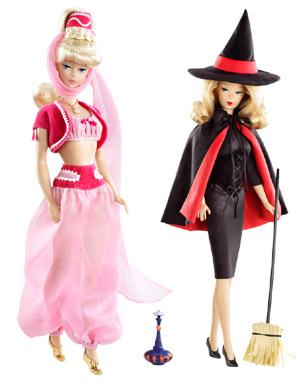Jeanne é um Gênio e A Feiticeira - Barbie Collector