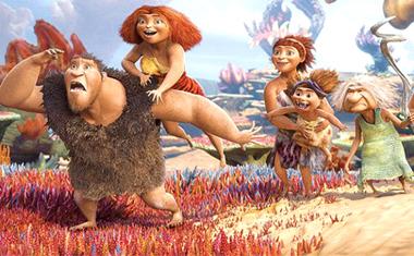 Os Croods, filme animado por computador e produzido pela DreamWorks Animation