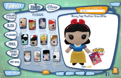 Bonecos de Plush - Personagens Famosos - Funko