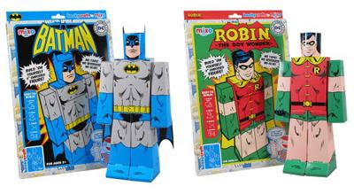 Papercraft - Batman e Robin - Funko ©