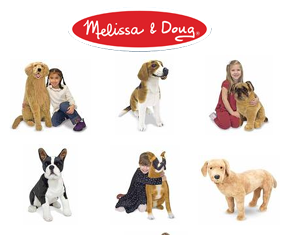 Bichos de Pelúcia Grandes - Melissa & Doug