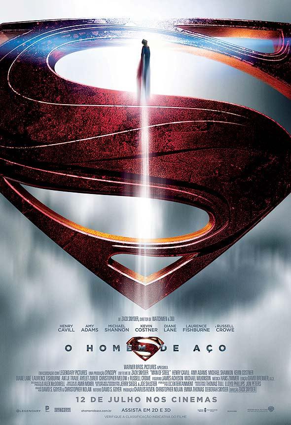 Homem de Aço, novo filme do Super-Homem