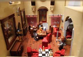 Escola de Magia e Bruxaria de Hogwarts - LEGO