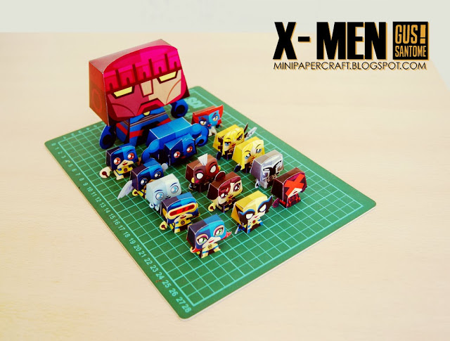 Xmen-bonecos-de-papel-para-brincar