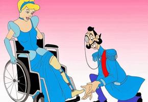 Contra o Preconceito - Princesas Disney Deficientes