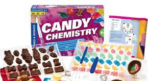 Kit de Experiências Científicas com Balas e Chocolates