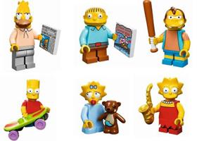 Minifiguras LEGO - Série Os Simpsons