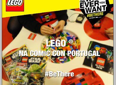 LEGO® volta a marcar presença na a Comic-con Portugal