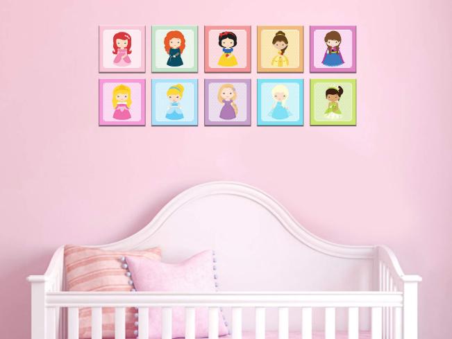 Quadros Decorativos Personagens Infantis