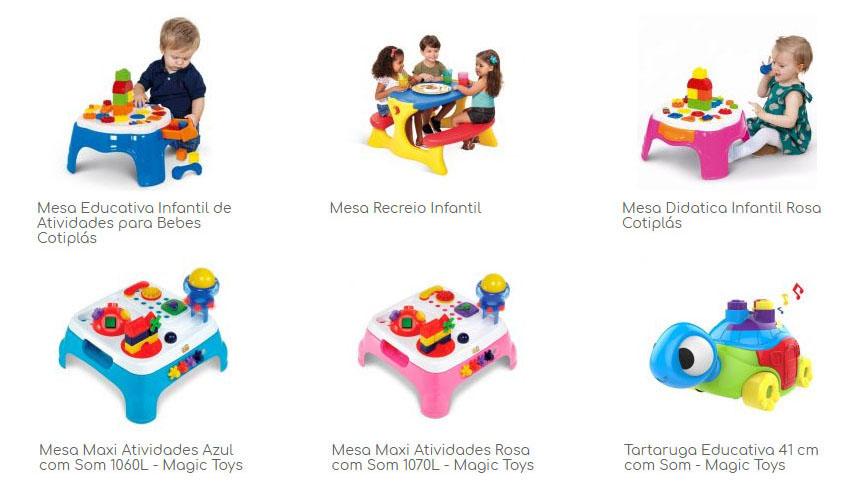 Brinquedos Educativos e Pedagógicos contribuem para diversão e aprendizado - Loja Cuba ©
